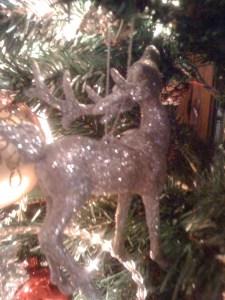 sparkly deer