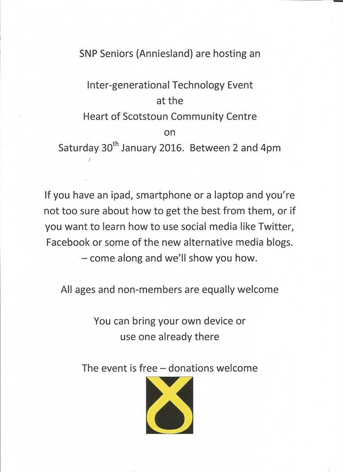 inter-generational community event