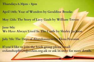 oxfam byres road book group