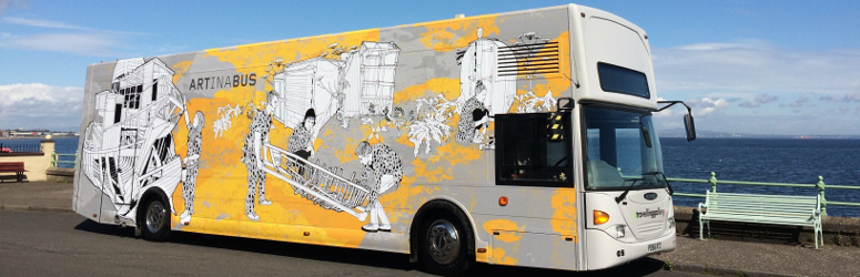 travelling gallery