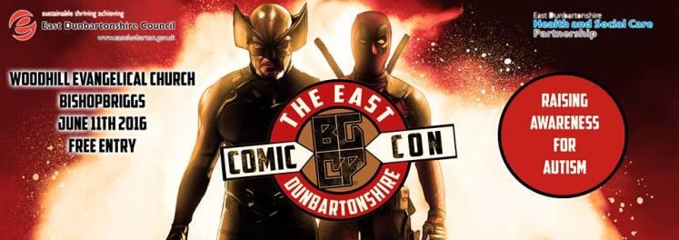 east dubarton comic con