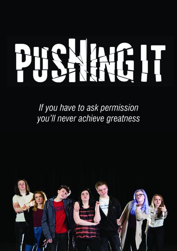 pushing it
