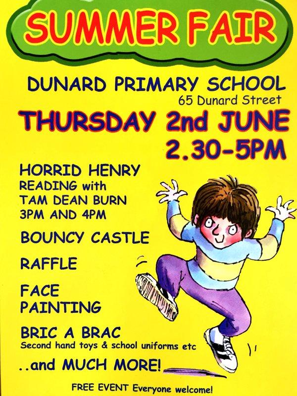 summer fair dunard primary school