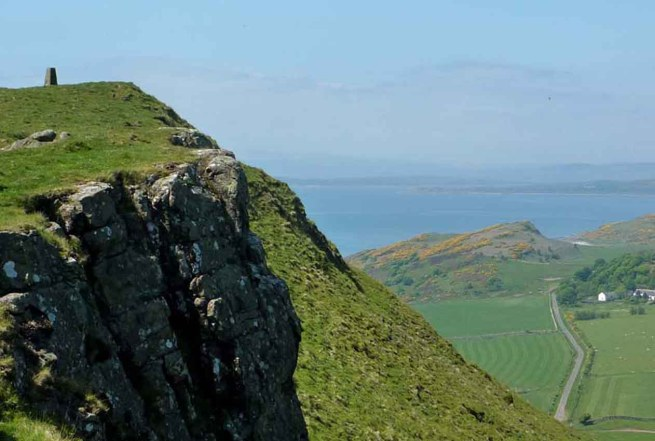 St Blanes Hill_ The Road Below. Bute
