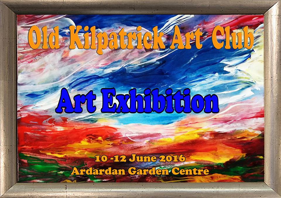 old k art exhibition 10-12 June, Ardardan Garden Centre