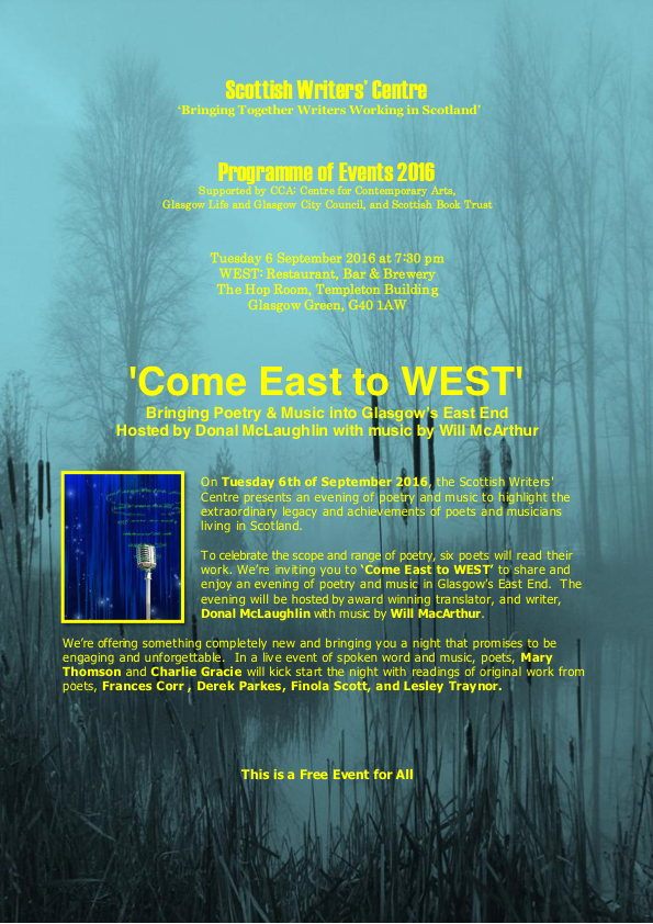 Come East to West Poster 1