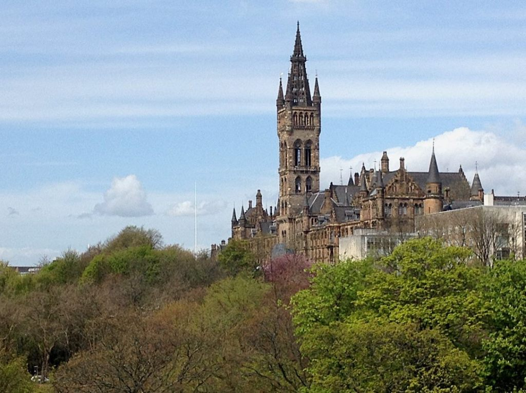 University of Glasgow – photography Jim Byrne