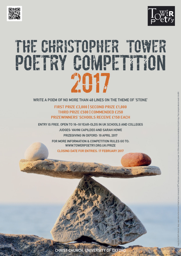 christopher tower poetry competition