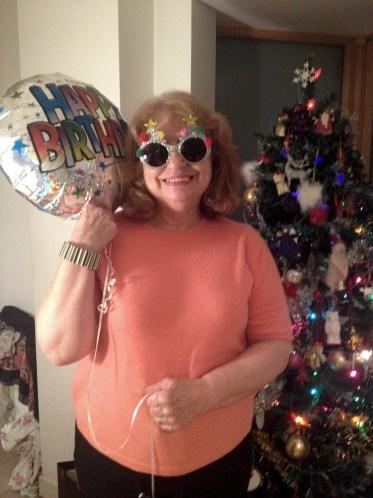 Pat Byrne, the birthday girl