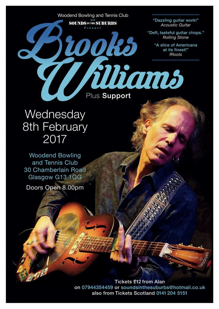 brook williams sounds in the suburbs