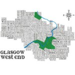 glagow west end print
