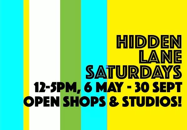 hidden lane saturdays 6 may - 30 sept