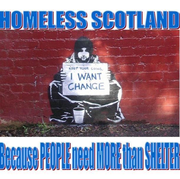 homeless scotland
