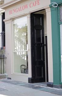 cafe door