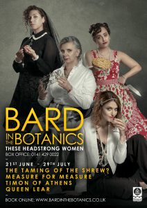 bard in the botanics 2017
