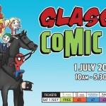 Glasgow Comic Con, Royal Concert Hall, 1 July, 2017