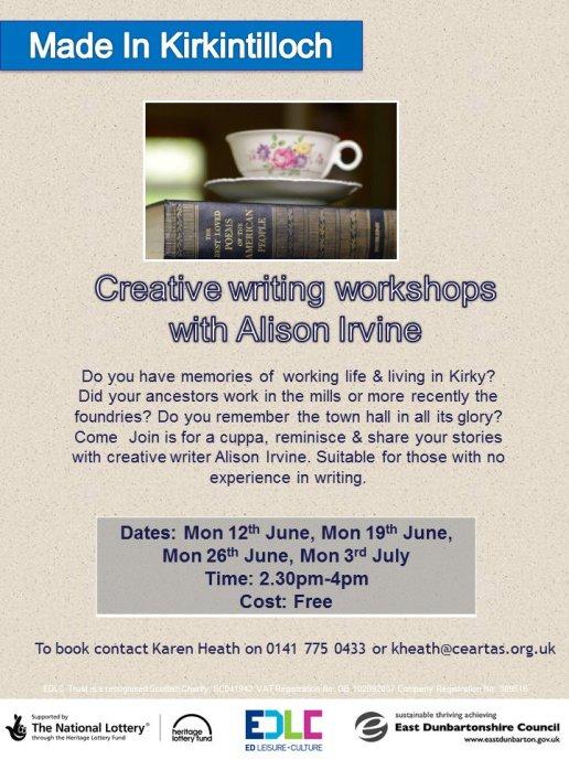 creative writing demntia