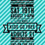 Kingsborough Gardens Gala,Saturday 19 August, 2017