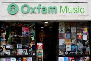 oxfam music shop