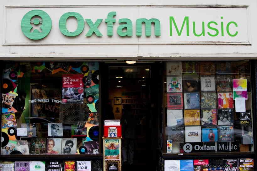 oxfam music shop
