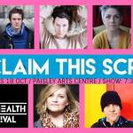 Flint and Pitch: Reclaim this Script, Paisley Arts Centre,18 October, 2017