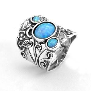 triple opal ring ns