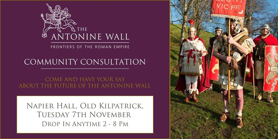 antonine wall community consultation