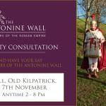 Revisiting the Antonine Wall, Community Consultation from 7 November, 2017
