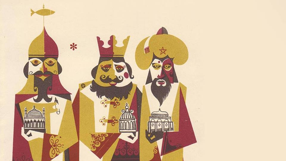 Three Kings Came From the East Gordon F. Huntly
