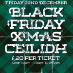 Cottiers Black Friday Christmas Ceilidh