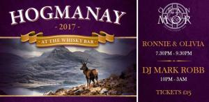 hogmanay whisky bar