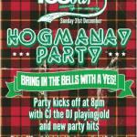 Yes Bar Glasgow, Hogmanay 2017