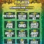Summer Nights at Kelvingrove Bandstand 2018