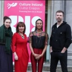 CULTURE MINISTERS WELCOME IRISH MUSICIANS TO SCOTLAND GB18