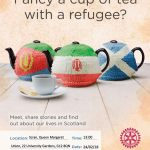 Roteract Fancy a Cup of Tea with a Refugee, QMU, University of Glasgow