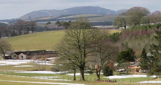 Blackmount View. Pentlands District