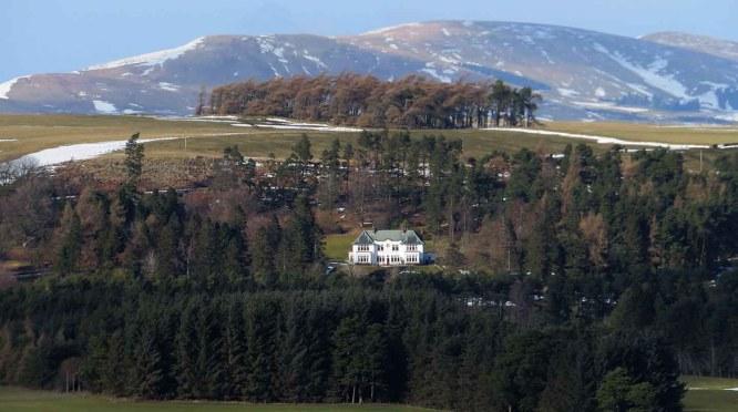 Lone House. Scottish Pentlands