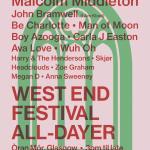 All Dayer OranMor, West End Festival 2018