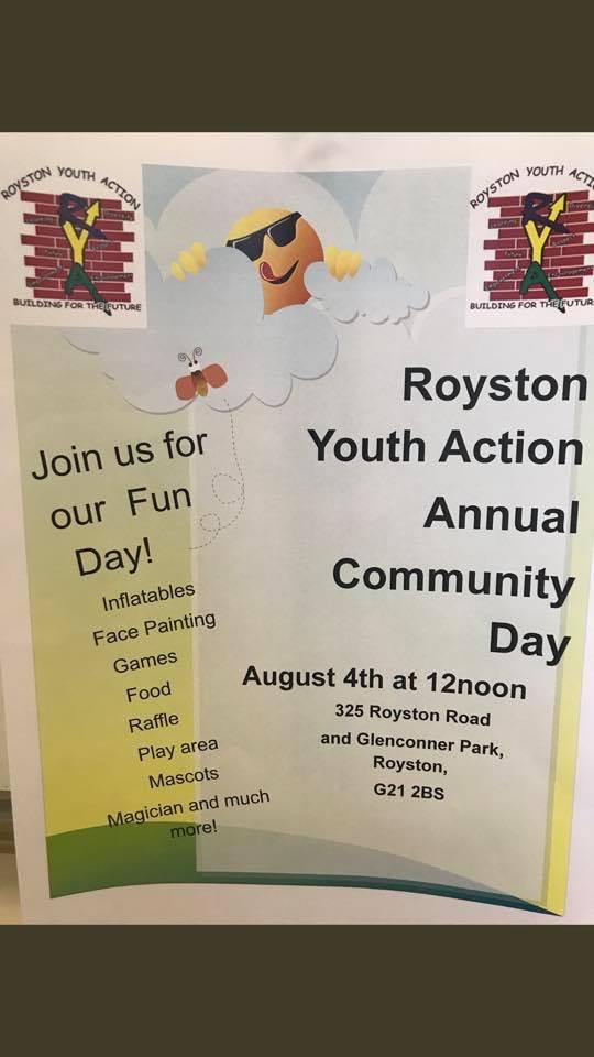 community fun dy royston youth actin
