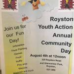 Royston Youth Action, Community Fun Day 2018