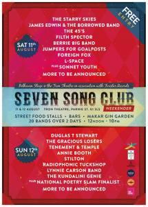 seven song club weekend.er.