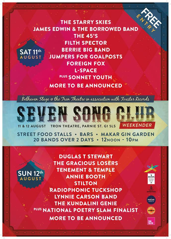 seven song club weekend.er.