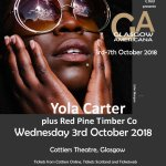 Glasgow Americana – Yola Carter & The Red Pine Timber Co, Cottiers