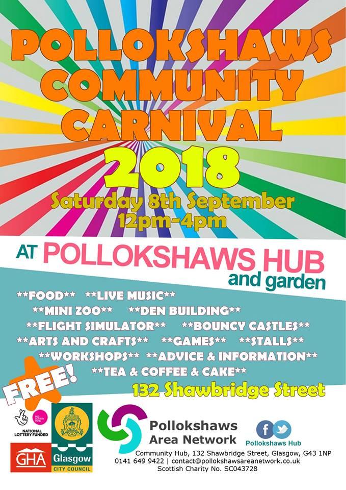 pollokshaws community carnival