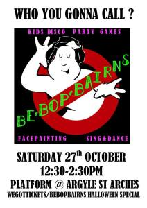 be bop halloween party