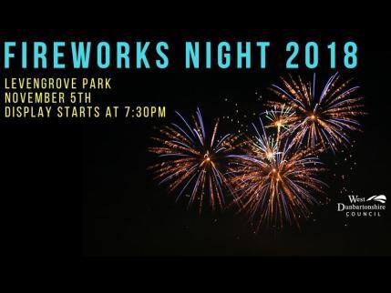dumbarton fireworks