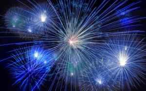 pexel blue fireworks