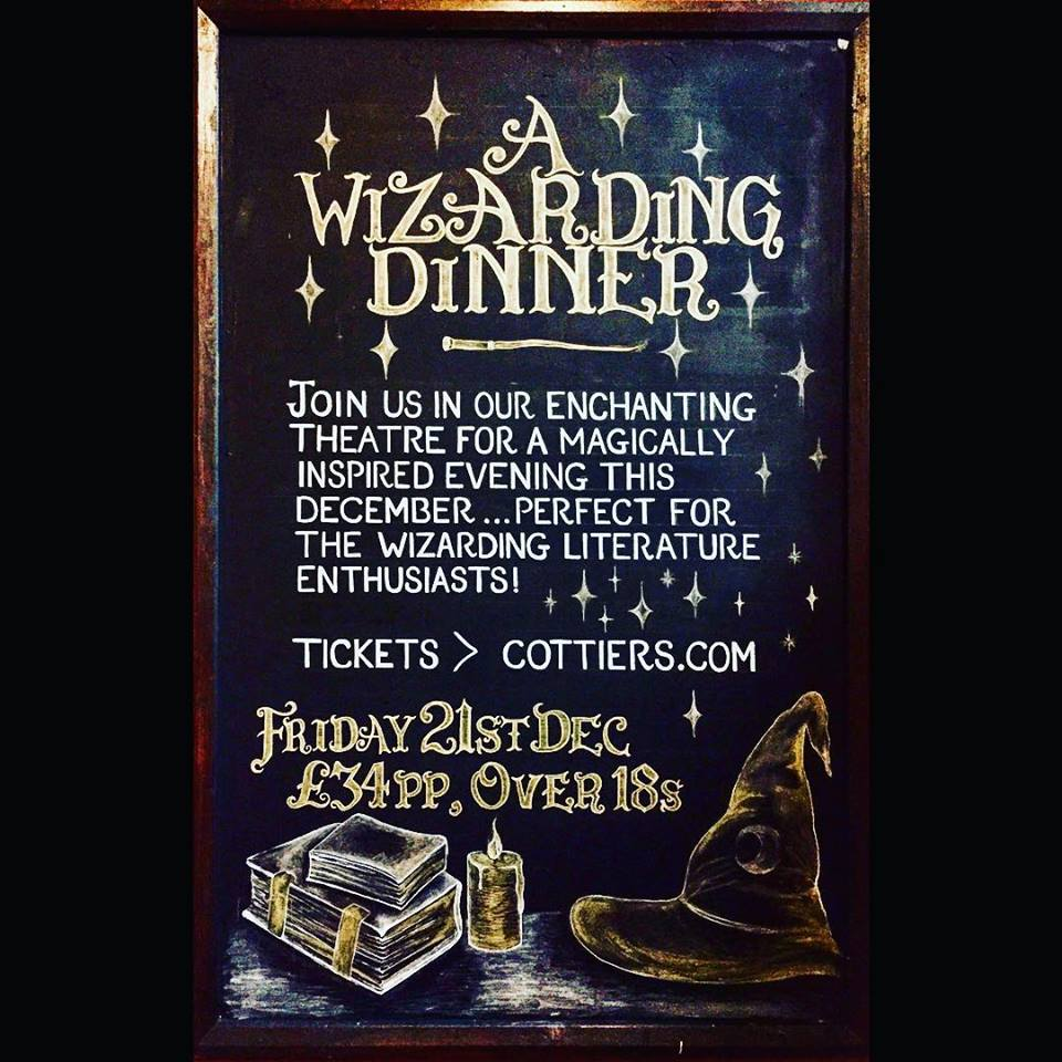 wizarding dinner cottiers