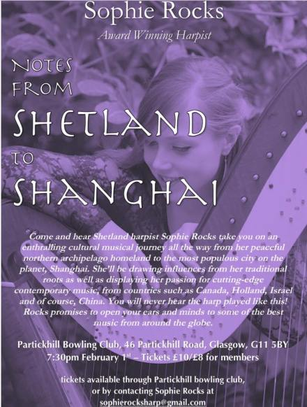 poster from shetland to shanghei