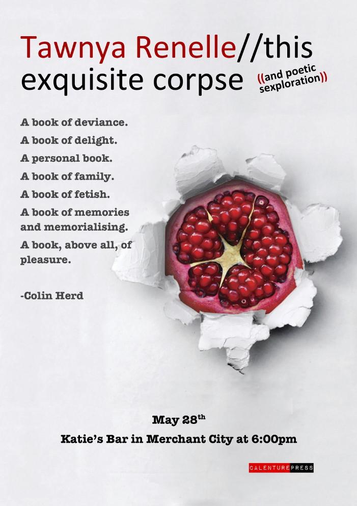 Glasgow Poster poetry tawnya